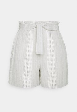 Vero Moda Tall - VMDICTHE TIE SHORTS  - Shorts - birch