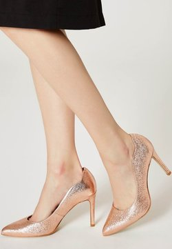 myMo at night - High Heel Pumps - copper