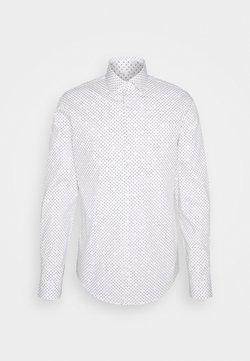 Calvin Klein Tailored - PRINTED SLIM SHIRT - Businesshemd - white