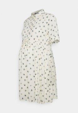 Pieces Maternity - PCMTHEA DRESS - Blusenkleid - cloud dancer