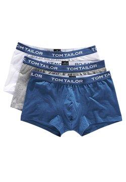 TOM TAILOR - 3 PACK - Shorty - white-light-solid