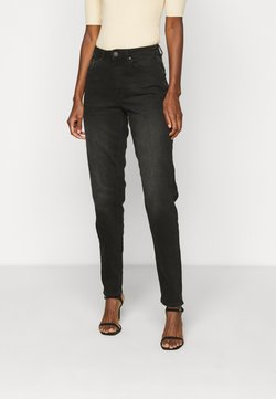 ONLY Tall - ONLVENEDA LIFE MOM - Relaxed fit -farkut - black denim