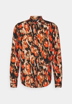 Just Cavalli - SLIM FIT - Vapaa-ajan kauluspaita - orange variant