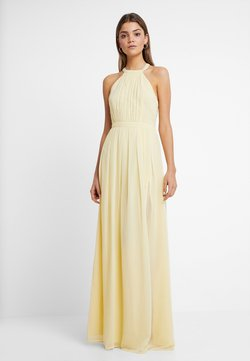 Nly by Nelly - HALTERNECK BEADED GOWN - Ballkleid - light yellow