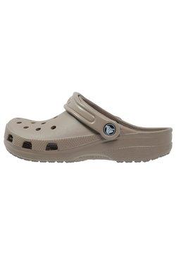 Crocs - CLASSIC UNISEX - Pool slides - khaki