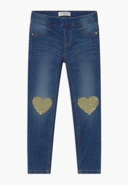 Lindex - MINI TINA - Slim fit jeans - dark denim