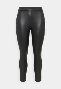 CAPSULE by Simply Be - HIGH WAIST - Leggings - Trousers - black