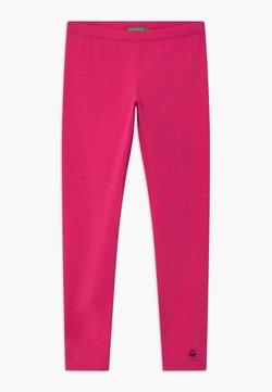 Benetton - EUROPE GIRL - Leggings - Hosen - pink