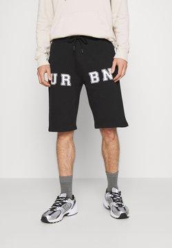 Urban Threads - PRINT UNISEX - Shorts - black