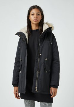 PULL&BEAR - Wintermantel - black