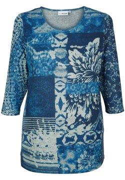 MIAMODA - Langarmshirt - blau grau