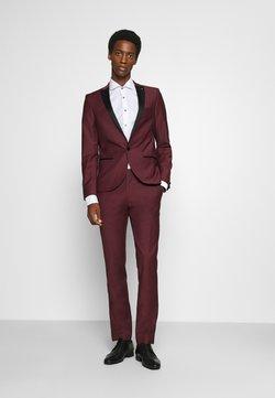 Twisted Tailor - KINGDON SUIT - Anzug - bordeaux