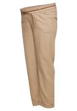 MAMALICIOUS - MLBEACH BELT PANT - Bukser - brown
