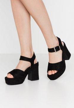 mtng - LEIRA - Korolliset sandaalit - black