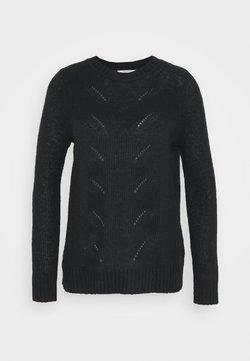 Esprit - POINTELLE - Maglione - black