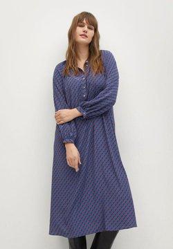 Violeta by Mango - METRIC - Skjortekjole - blau