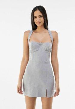 Bershka - Cocktailkleid/festliches Kleid - light grey