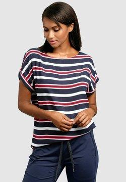 Alba Moda - T-Shirt print - marineblau/rot/weiß