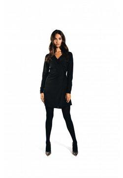 Jacky Luxury - TRAVELLER OVERSLAG - Korte jurk - black