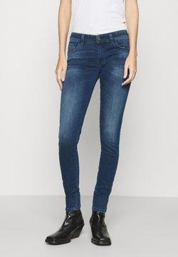 Diesel - SLANDY-LOW-ZIP - Jeans Skinny - indigo