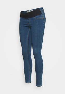 New Look Maternity - Vaqueros pitillo - mid blue