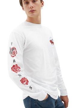 Vans - MN ROSE BED LS - Pitkähihainen paita - white