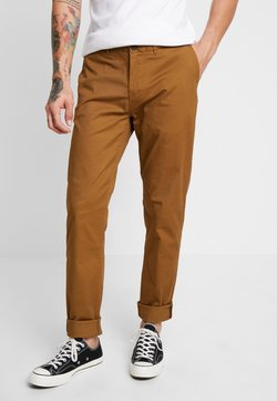 Scotch & Soda - STUART CLASSIC SLIM FIT - Chinot - walnut