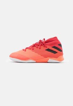 adidas Performance - NEMEZIZ 19.3 FOOTBALL SHOES INDOOR - Indoor football boots - signal coral/core black/glory red