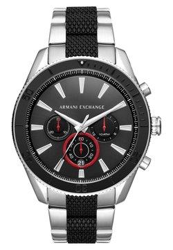Armani Exchange - Montre à aiguilles - silver-coloured/schwarz