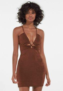 Bershka - Cocktailkleid/festliches Kleid - brown