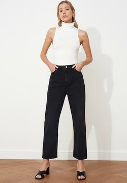 Trendyol - PARENT - Straight leg -farkut - black