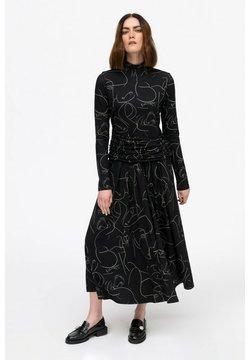 Hexeline - Długa sukienka - czarny