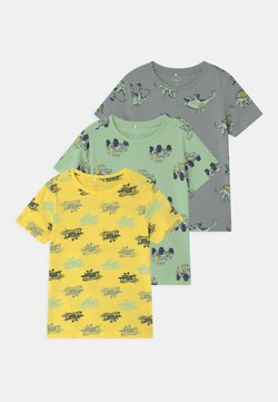 Name it - NMMSAZUE 3 PACK - Camiseta estampada - pastel green