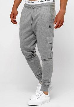 INDICODE JEANS - Spodnie treningowe - grey mix