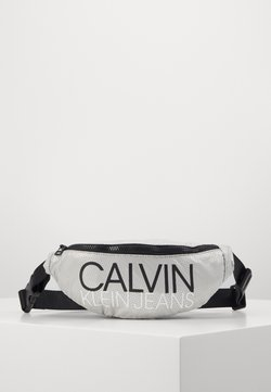 Calvin Klein Jeans - INSTITUTIONAL LOGO WAIST PACK - Saszetka nerka - grey
