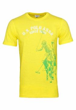U.S. Polo Assn. - T-shirt con stampa - gelb