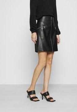 Morgan - A-line skirt - noir