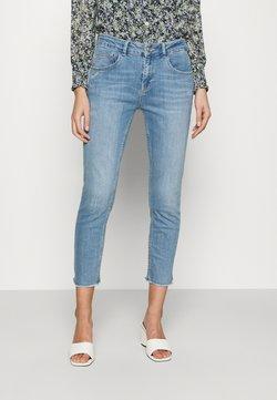 Mos Mosh - BRADFORD LETTER JEANS - Slim fit jeans - light blue