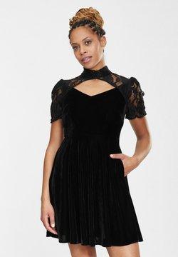 Collectif - Cocktailkleid/festliches Kleid - black