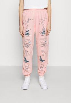 NEW girl ORDER - CLIP ART  - Jogginghose - pink