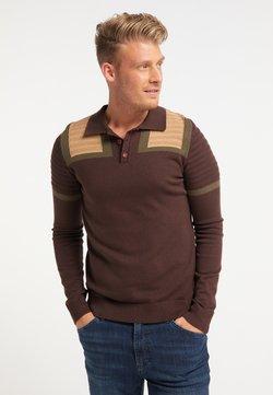 Mo - Stickad tröja - brown