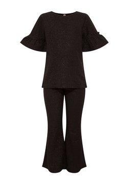 DeFacto - GIRL PYJAMA SET - Pyjamas - black