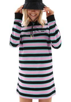 Vans - WM STRIPE POLO DRESS - Jerseykleid - black