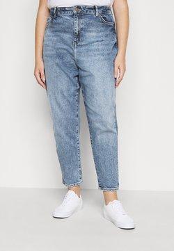 New Look Curves - WAISTENHANCEMOM - Straight leg -farkut - mid blue