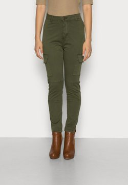 Alpha Industries - AGENT  - Cargo trousers - dark olive