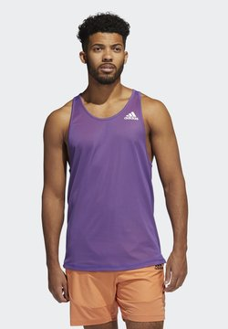 adidas Performance - FOR THE OCEANS PRIMEBLUE TANK TOP - Linne - purple