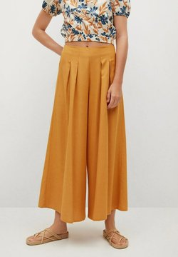 Mango - Trousers - mittelbraun