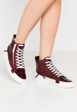 Kennel + Schmenger - BASE - Sneaker high - merlot/bianco