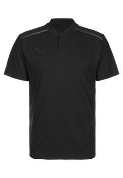 Puma - TEAMCUP - T-Shirt print - black / asphalt
