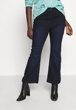 CAPSULE by Simply Be - KIM - Bootcut jeans - indigo